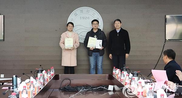 中国海洋大学第五届3D打印设计大赛颁奖仪式举行