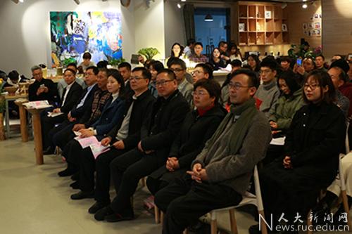 艺术学院教师与宁海葛家村村民共同进行创新教学