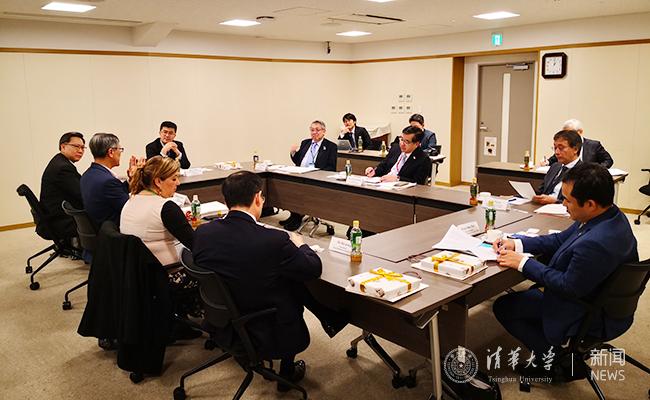 过勇访问日本出席2019年东京论坛推进与日本高校的务实合作