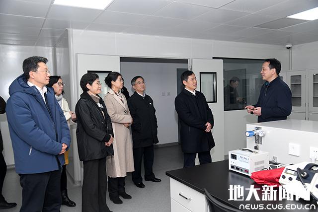 教育部党组成员、副部长钟登华来中国地质大学(武汉)调研