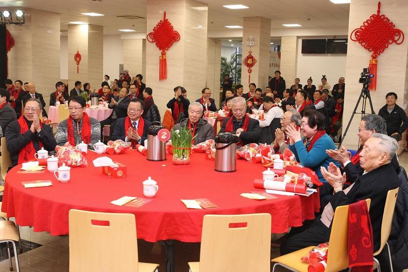 上海交通大学2020年春节团拜会隆重举行