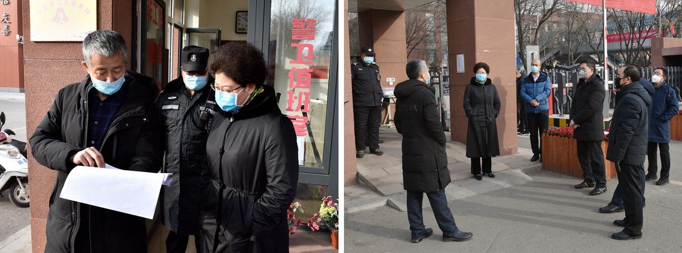 【疫情防控:进行时】黄雅丽、刘九万一行视察指导疫情防控工作
