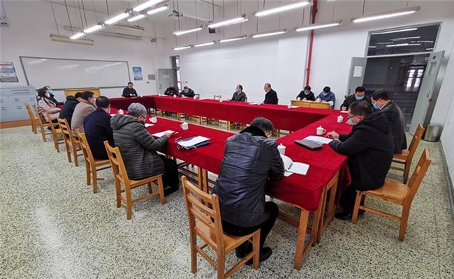 学校疫情防控工作领导小组召开第六次工作会议