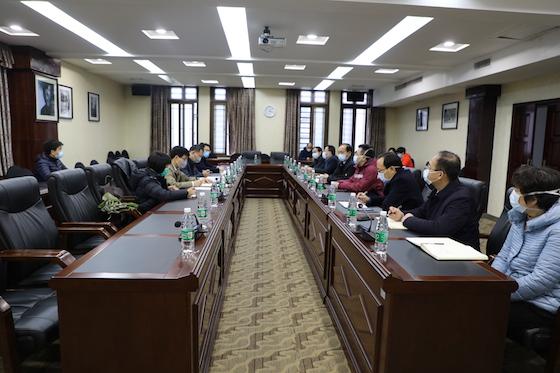 国家卫生健康委专家组来湘雅医院指导疫情防控工作