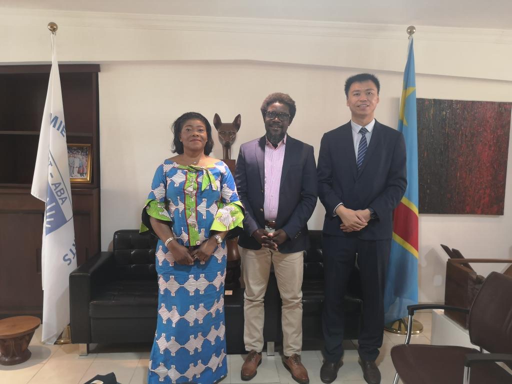 刚果(金)外交学院孔子学院参访金沙萨美术学院