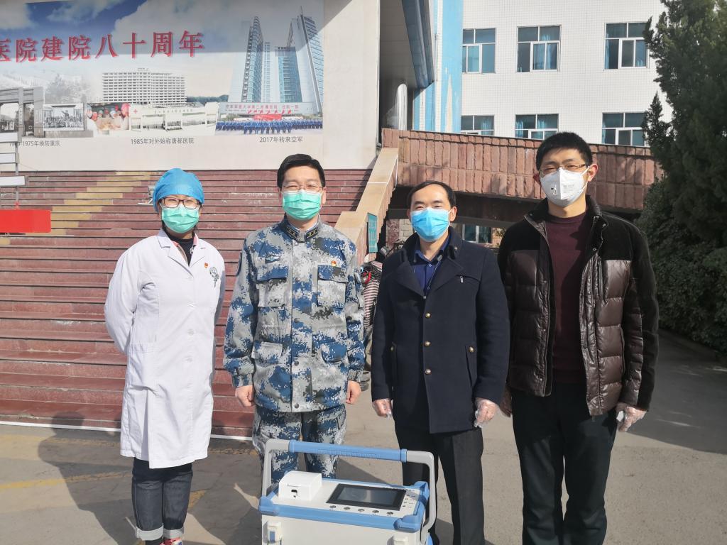 """西安交大团队研发出等离子体活化水消毒设备抑制病毒传播服务战""""疫""""前线"""