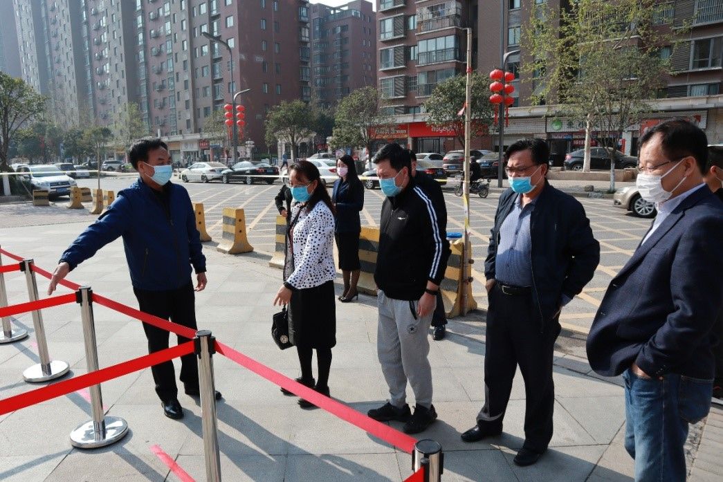 杨祖培副校长一行检查对外办学学校开学准备工作