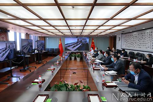 中国人民大学召开毕业生就业工作推进会