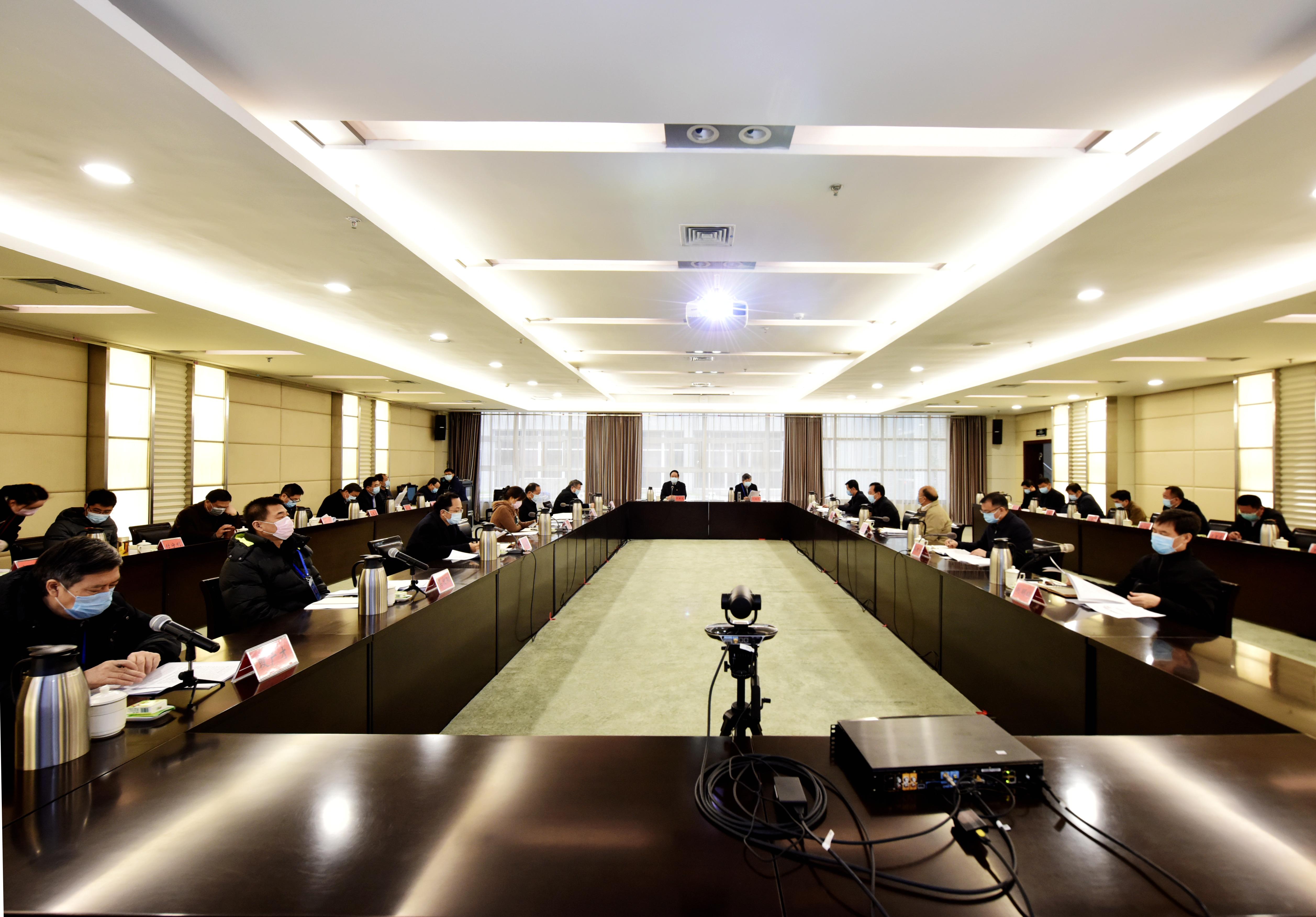 郑州大学召开第七次新型冠状病毒感染的肺炎疫情防控工作领导小组会议(图)