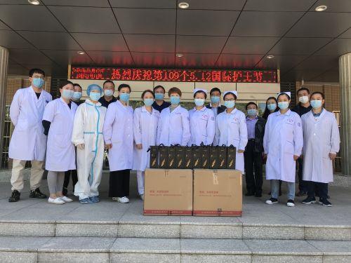 学校开展512国际护士节慰问活动