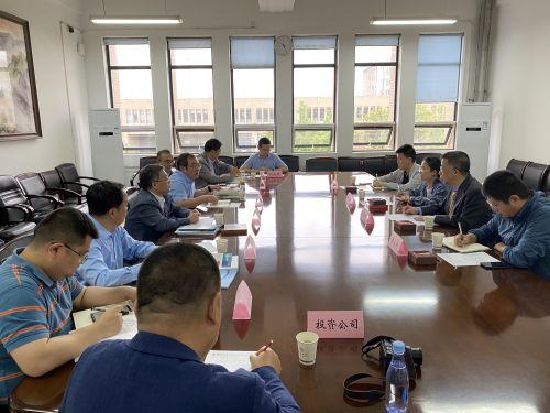 我校85级校友、陕西长安华科发展股份有限公司总经理赵凯辉回校座谈