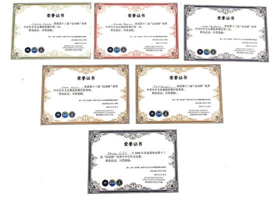 """第十三届""""汉语桥""""世界中学生中文比赛波黑赛区预赛在线上举行"""
