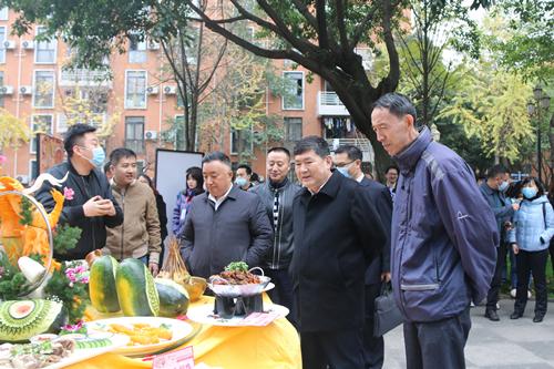我校成功举行第十七届校园民族美食节