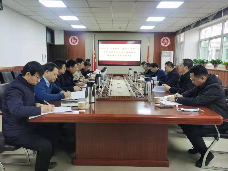 省科技厅副厅长张其光来校指导我校与太钢集团共建国家重点实验室推进会
