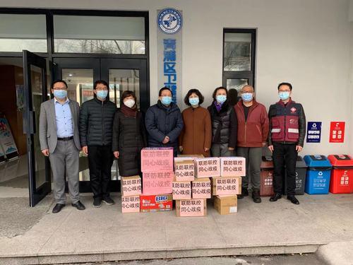 校党委书记夏小和带队走访青浦区有关单位并检查校园疫情防控工作