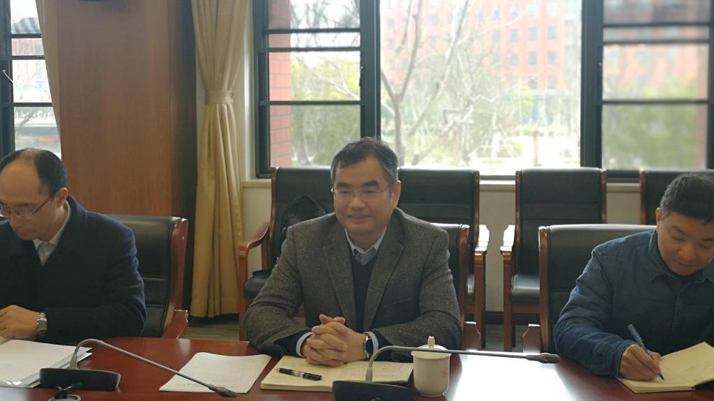 副校长姚菊明到梅山校区调研资产设备工作