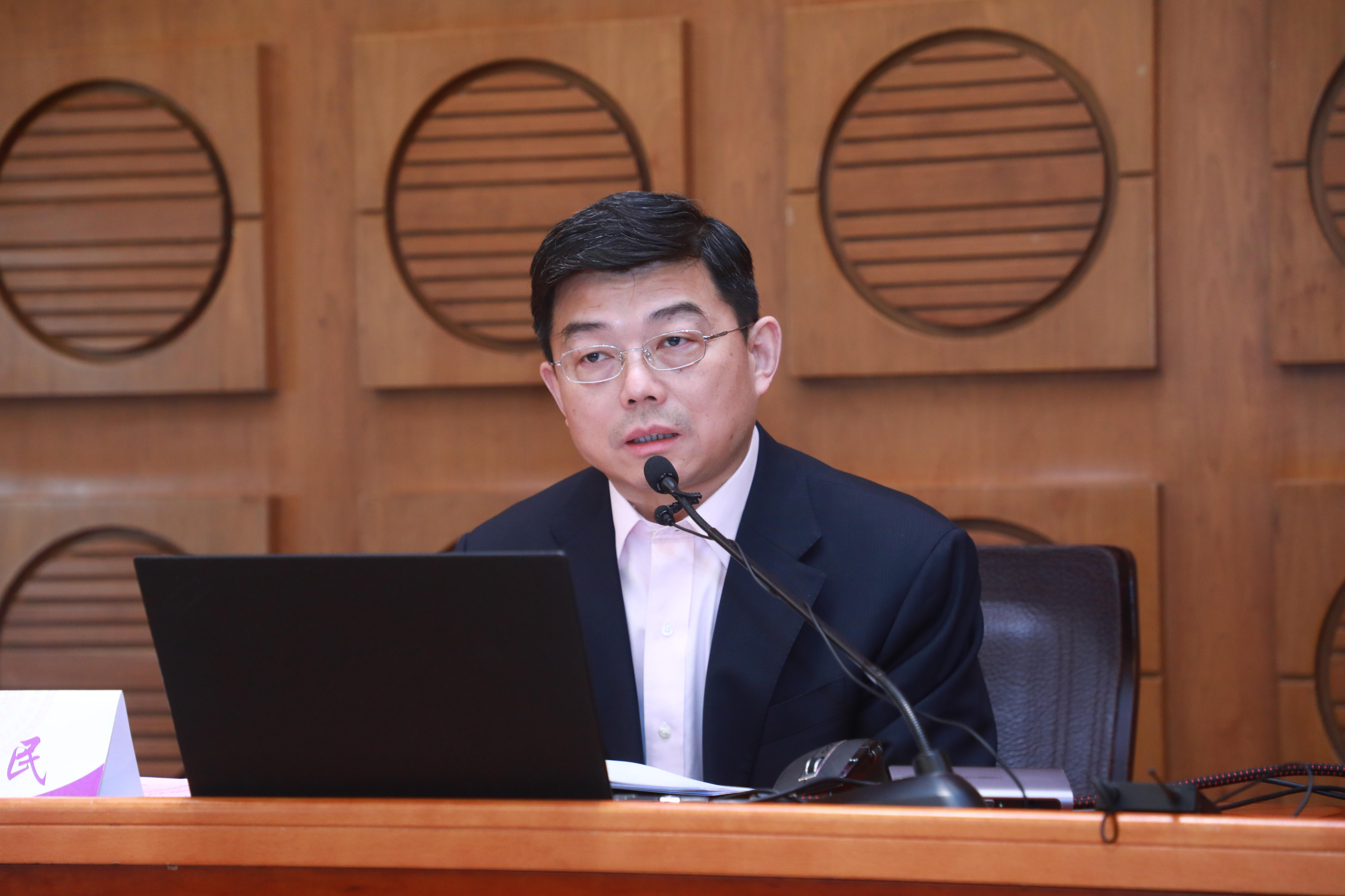 清华大学举办干部时事政治专题学习班(第一讲)