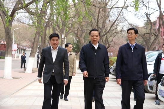 教育部党组成员、副部长宋德民调研甘肃教育工作座谈会在西北师大召开