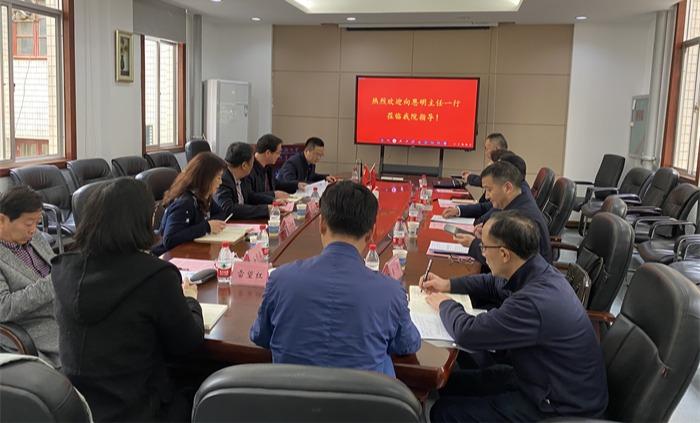 湖南省民族宗教事务委员会主任向恩明来校调研