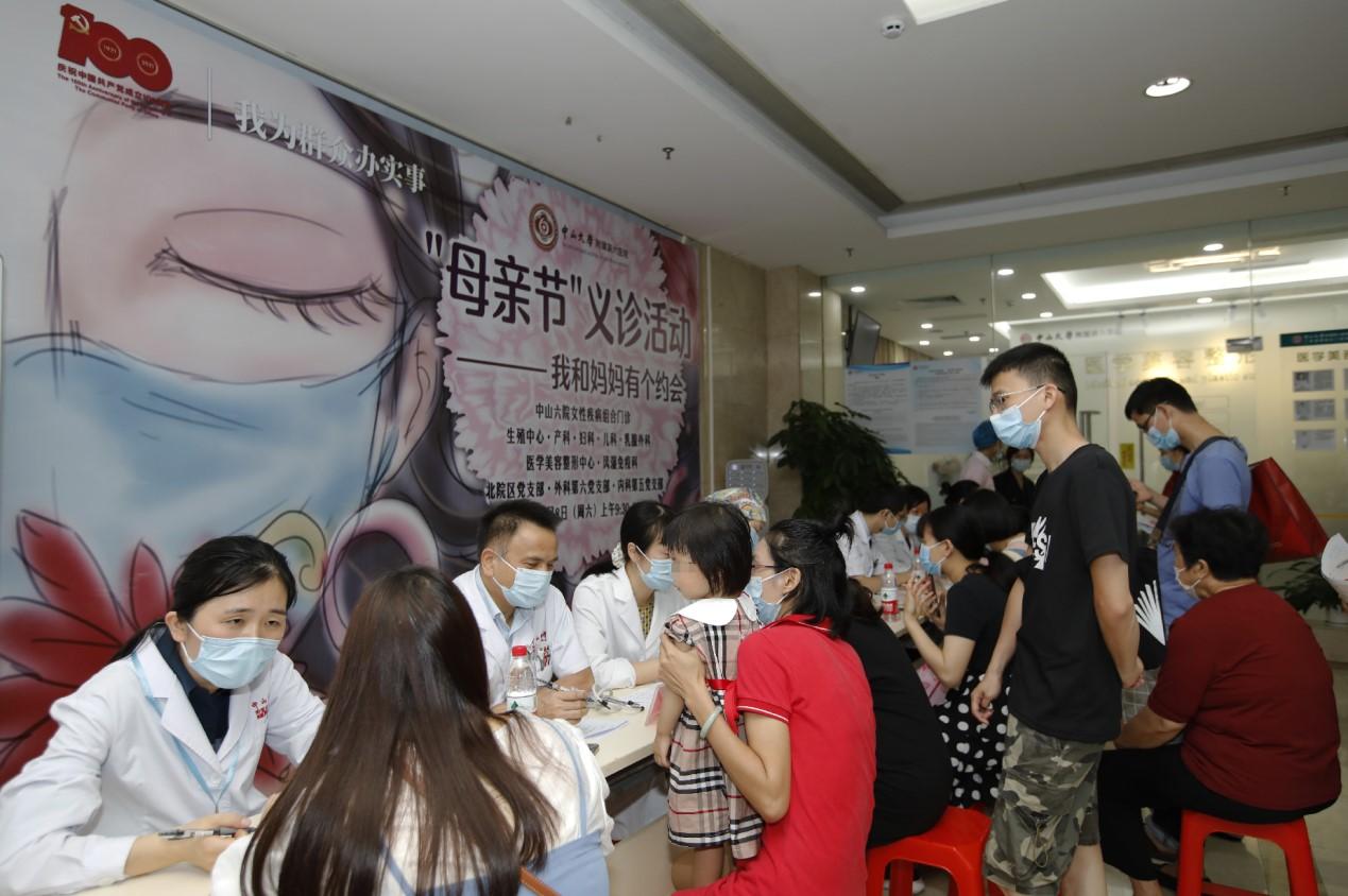 【我为群众办实事】附属第六医院:开展关爱女性健康义诊活动