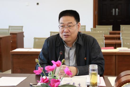 全省党史学习教育第十一巡回指导组到西北师大调研指导工作