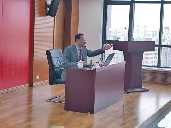 华夏银行股份有限公司哈尔滨分行四史教育专题讲座顺利举办