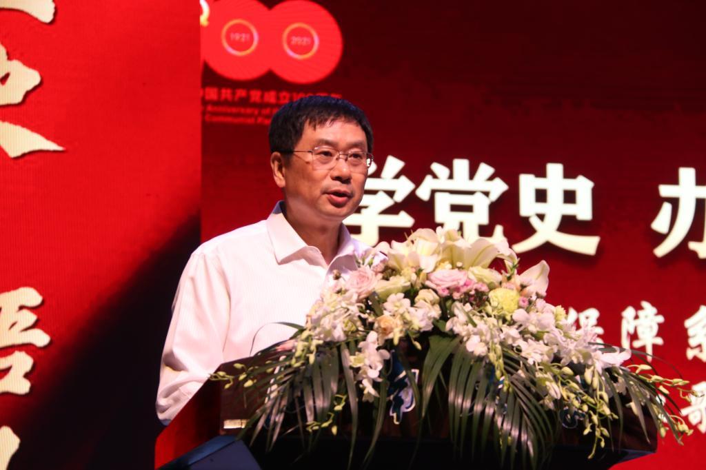 江南大学后勤保障系统举办庆祝建党百年红歌合唱大赛