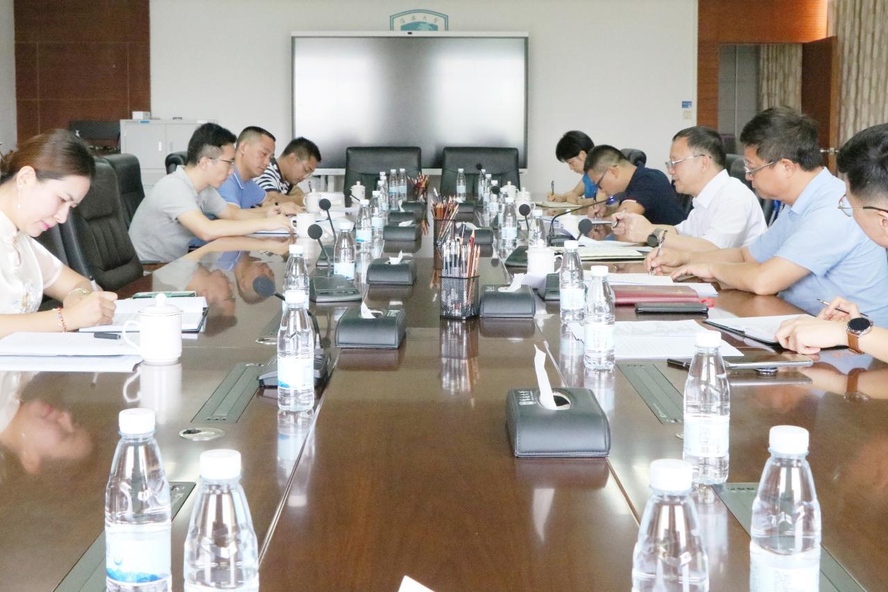 骆清铭参加机关党委第五支部党史学习教育专题组织生活会