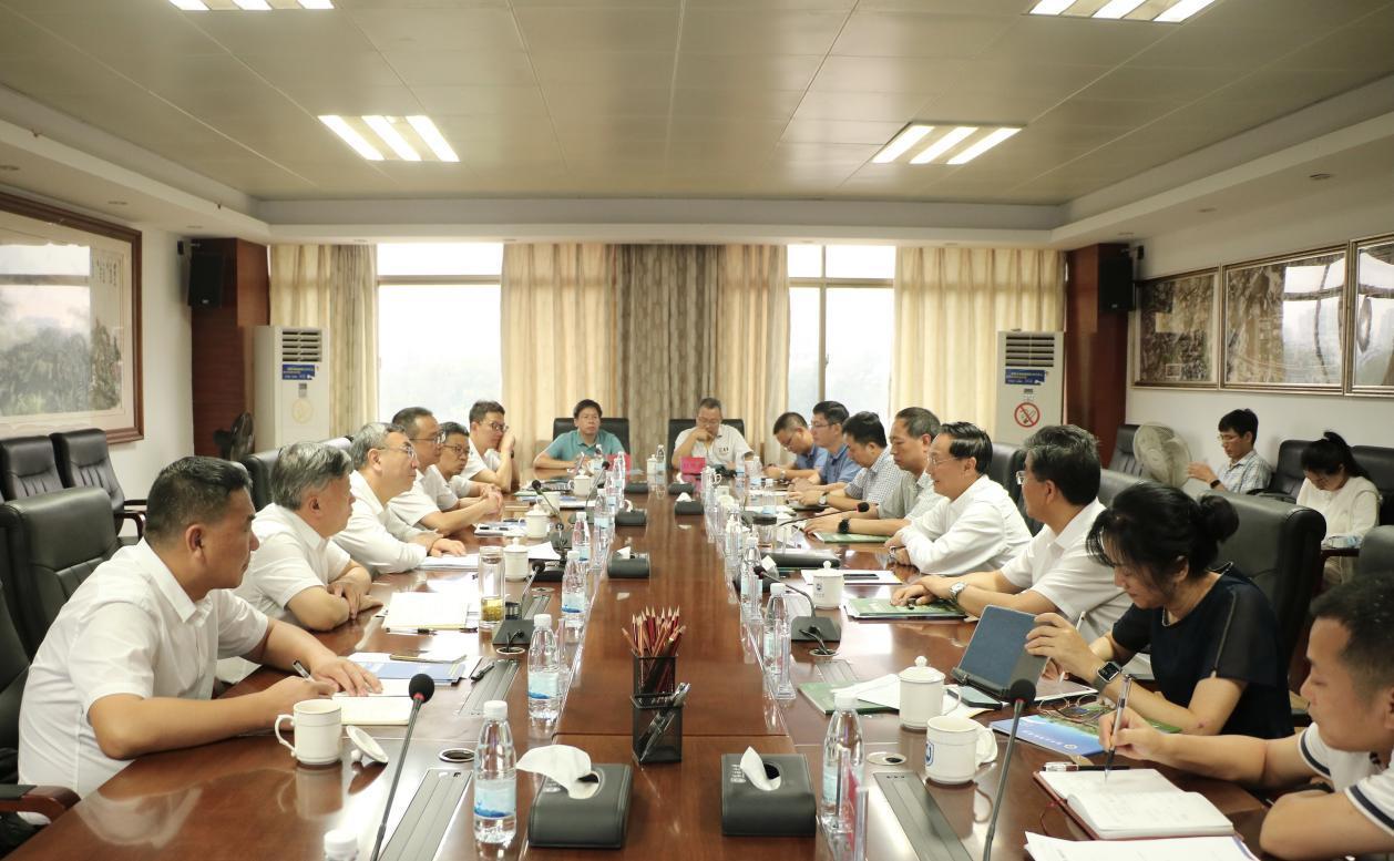 海南大学与国家林业和草原局华东调查规划设计院举行生态文明建设交流座谈会