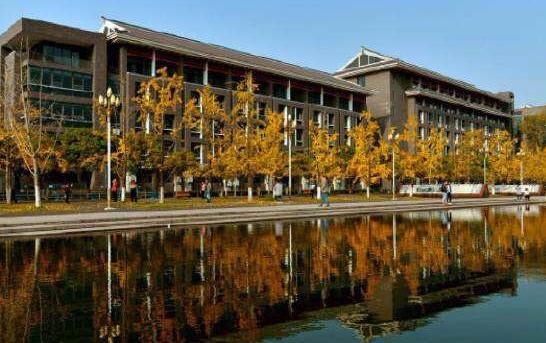 四川大学校园风光