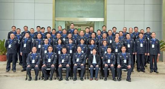 """河南省公安厅第一工程公安局""""进入新时代 学习新思想""""主题培训班顺利举办"""