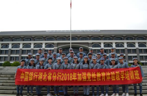 """【湖北】""""不忘初心,牢记使命""""中国银行湖北省分行2018年加强党"""