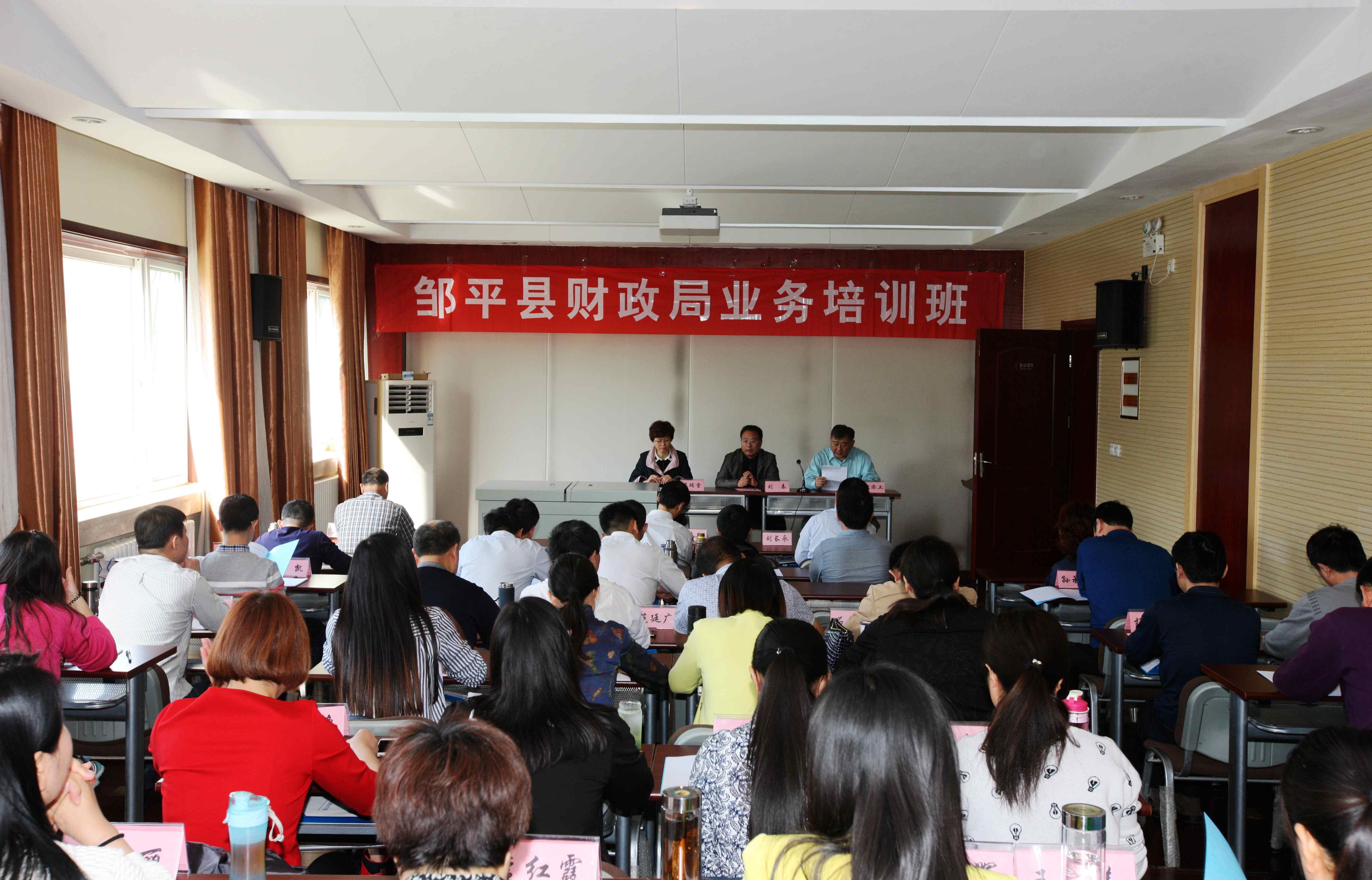 2017年邹平县财政局