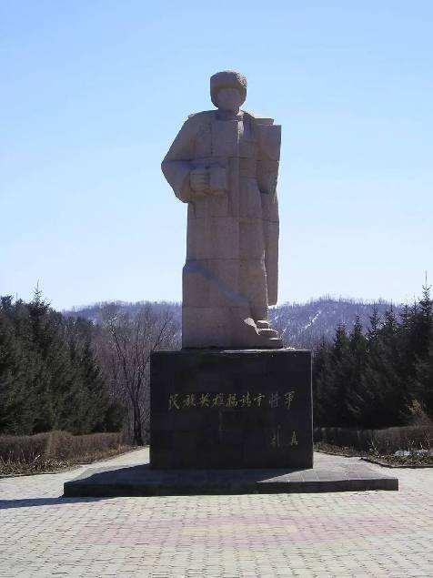 靖宇县杨靖宇将军殉国地