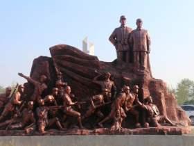 刘邓大军渡淮河的遗址
