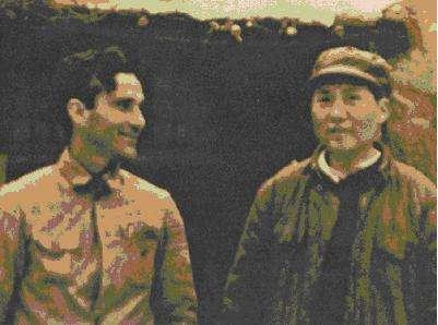 《毛泽东与斯诺》第一集初次见 面