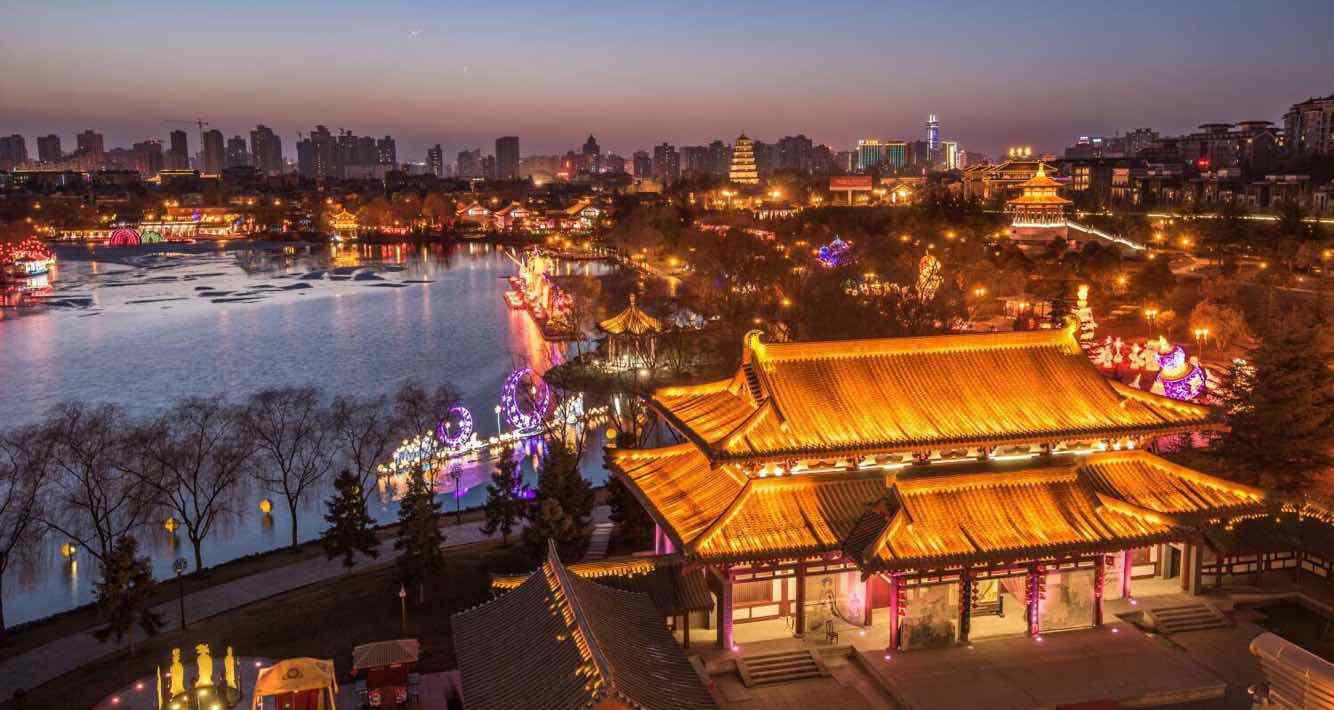 大唐芙蓉园、曲江池、寒窑遗址公园