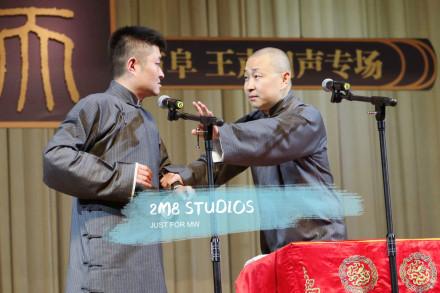 吃美食听陕派相声,苗阜卢鑫精彩表演