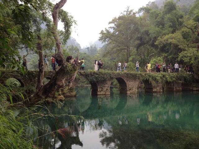 荔波樟江小七孔风景区