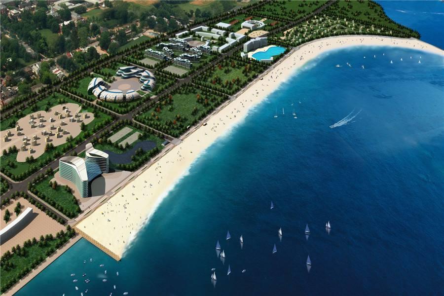 东疆湾沙滩景区