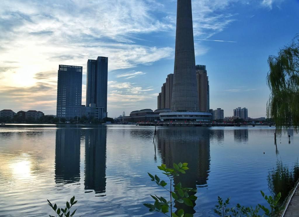 天津天塔湖