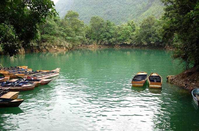 金塔鸳鸯湖风景区