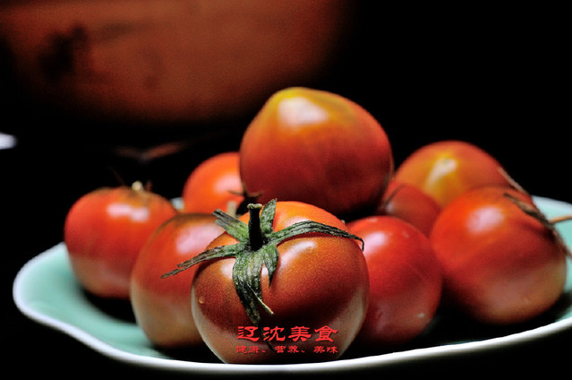 盘锦盐碱地西红柿