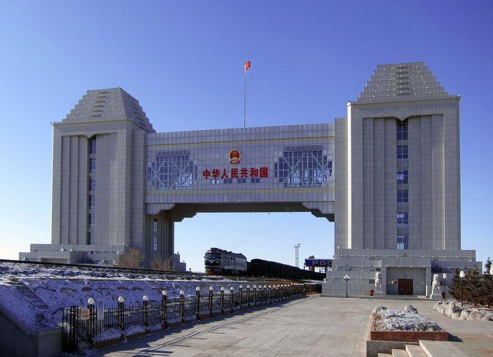 满洲里中俄边境旅游区