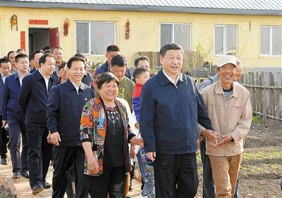中共中央总书记、国家主席、中央军委主席习近平在黑龙江考察调研