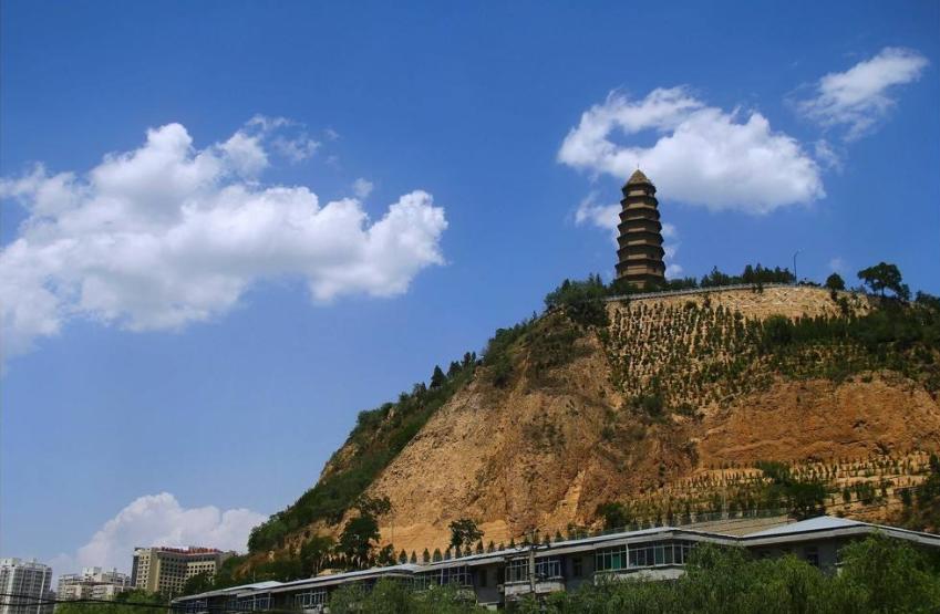 陕西红色教育基地-宝塔山