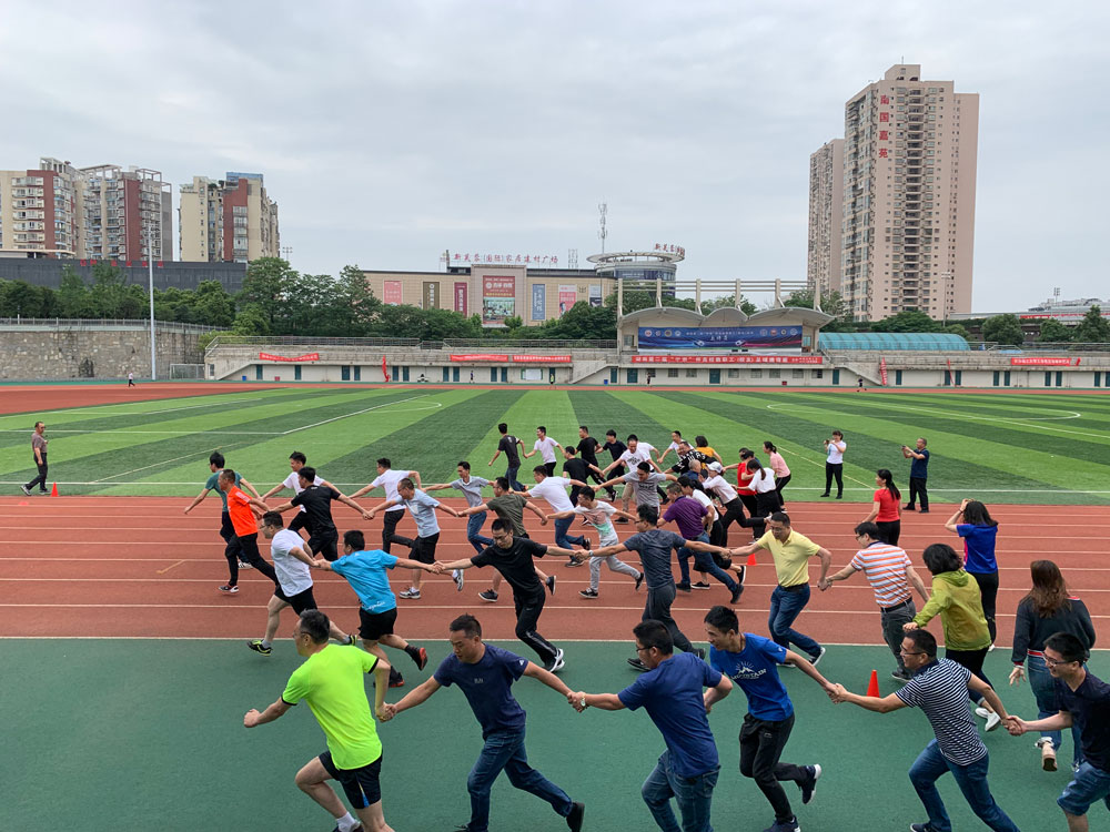 广州局集团公司班组建设专兼职管理人员培训班团队执行力拓展训练