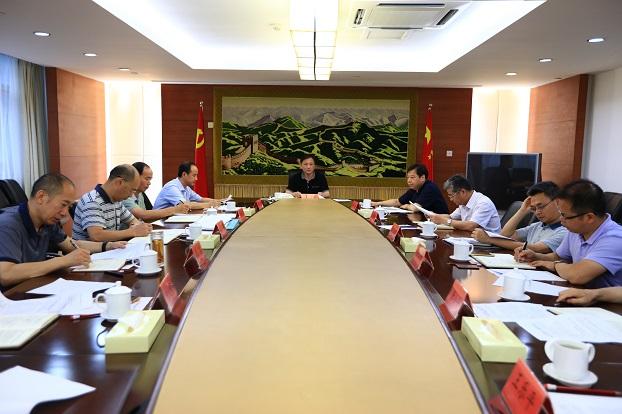 中井院理论学习中心组举行2019年第六次集体学习