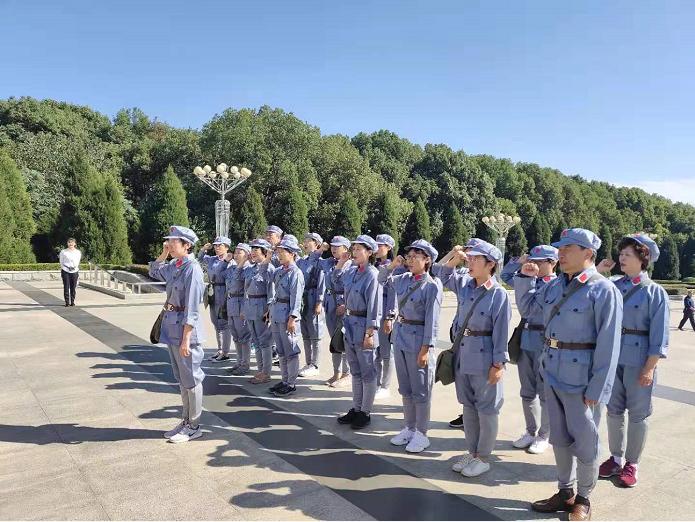 北京民航总医院:纪念馆里寻初心 红色教育强党性