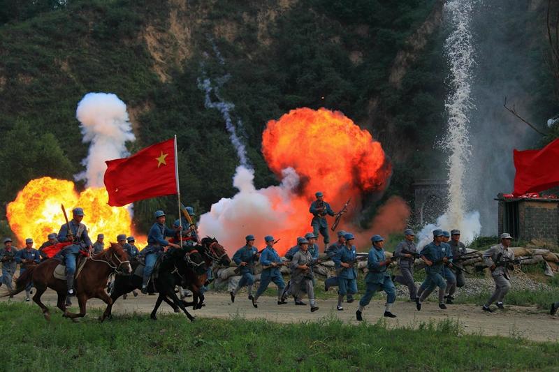 大型实景演出《延安保卫战》